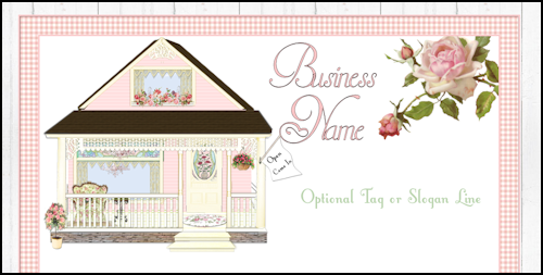 Cottage Style Web Design Template