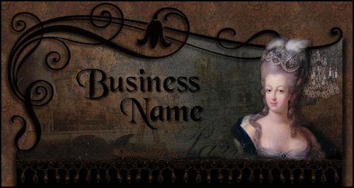 Marie Antoinette Web Design Template