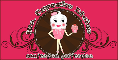 Ms. Cupcake Divine Website Package - Original Illustration for Cupcake/Pastry Business