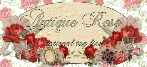 Antique Rose Web Design Template