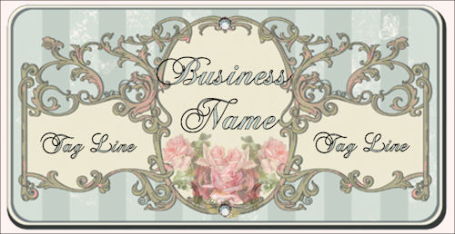 Vintage Rose Web Design Template