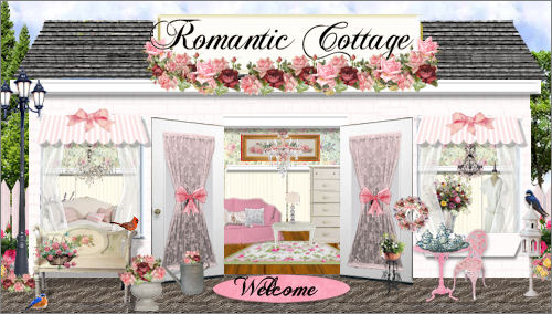 Romantic Cottage Web Design Template