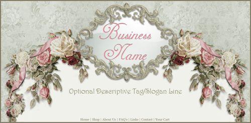 Victorian Roses Ooak Template